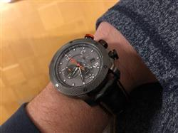 Florian K. verified customer review of GX1 Swiss Chrono Cool Gray Limited Edition 000/500