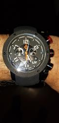 Miguel A. verified customer review of GX1 Swiss Chrono Gray IP Case | Black Dial & Gray Numbers 1240.45.11