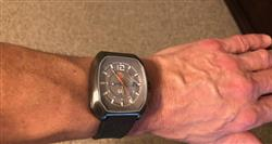 Matthew C. verified customer review of Rebel-GMT 24 Hours / GMT + Dual Time | Black IP Case | Blue Dial