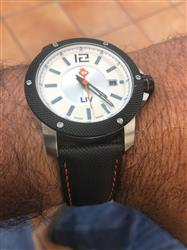 luis g. verified customer review of Free Fall Canvas Strap 22MM