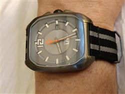 Andre G. verified customer review of Rebel-A Gray IP Swiss Automatic Gray Dial