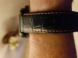 David H. verified customer review of Free Fall Leather Strap 22MM
