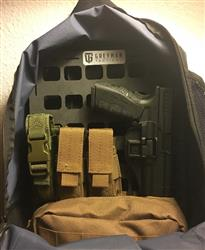 Anonymous verified customer review of Rigid Insert Panel MOLLE (RIP-M) - 10.75in x 15in