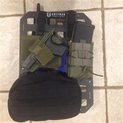 Kit T. verified customer review of Rigid Insert Panel MOLLE (RIP-M) - 10.75in x 15in