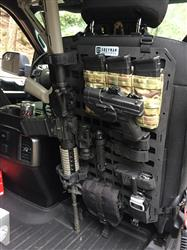 Anonymous verified customer review of Rigid Insert Panel MOLLE (RIP-M) - 15.25in x 25in