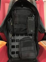 Peng C. verified customer review of Rigid Insert Panel MOLLE (RIP-M) for GoRuck Bullet 10L - 8.875in x 17in