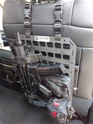 Jason S. verified customer review of Rifle Mount Clamp for Rigid MOLLE Panel - Vehicle Rifle Rack