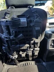 Chris L. verified customer review of Rifle Mount Clamp for Rigid MOLLE Panel - Vehicle Rifle Rack