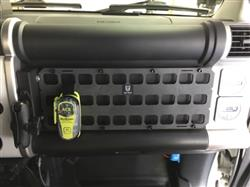 dave c. verified customer review of Rigid Insert Panel MOLLE (RIP-M) - 16.5in x 6in - FJ Cruiser Front Dash Storage