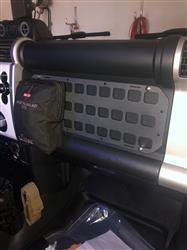 Michael P. verified customer review of Rigid Insert Panel MOLLE (RIP-M) - 16.5in x 6in - FJ Cruiser Front Dash Storage