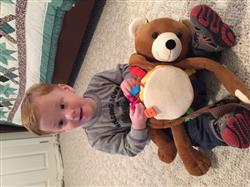Johsie B. verified customer review of Billy Bear Backpack