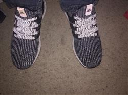 Kyle F. verified customer review of Black - Reflective Flat Laces 2.0