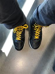 Stephen I. verified customer review of Gold Shoe Laces