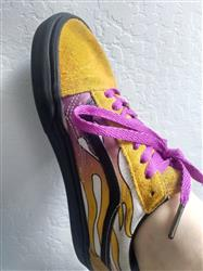 Summer M. verified customer review of Paradise Purple Shoe Laces