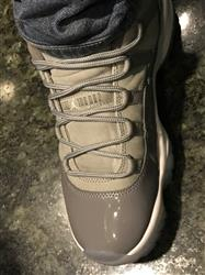 Darryl R. verified customer review of Cool Grey - XI Rope Laces