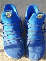 David B. verified customer review of Blue/Black Rope Laces
