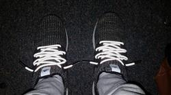 Jason Y. verified customer review of White 3M Reflective Rope Laces