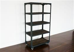 Leanne L verified customer review of Industrial Bookcase - Railroad Junction Shelf