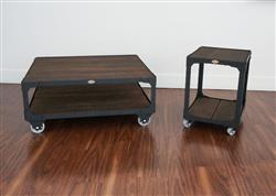Leanne L verified customer review of Matching Industrial Furniture - Wood Top Coffee Table and End Table Set
