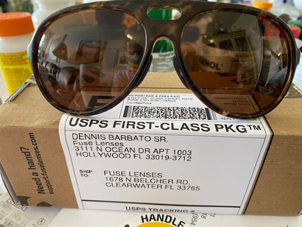 Plus Replacement Lenses for Costa Del Mar Playa Fuse Lenses Fuse
