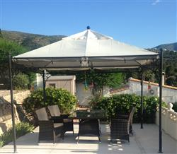 Anonymous verified customer review of Canopy for 3.5m x 3.5m Patio Gazebo - Single Tier