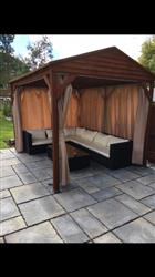 Side Panel Set for 3m x 4m Patio Gazebo - Set of 4