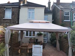 Stephan S. verified customer review of Canopy for 3m x 4m Patio Gazebo - Two Tier