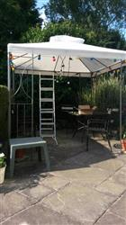 Universal Canopy for 2.4m x 2.4m Patio Gazebo - Two Tier