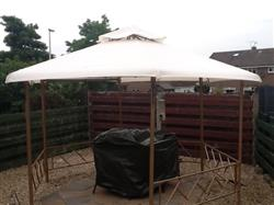 Colin S. verified customer review of Canopy for 4m Hexagonal Patio Gazebo - Two Tier