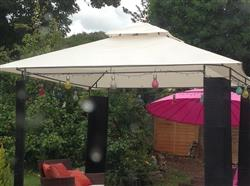 Anonymous verified customer review of Canopy for 3m x 3m Patio Gazebo - Two Tier