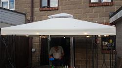 James D. verified customer review of Canopy for 2.5m x 2.5m Patio Gazebo - Two Tier