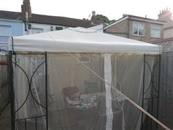 Mark C. verified customer review of Canopy for 2.5m x 2.5m Patio Gazebo - Two Tier