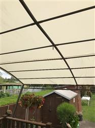 Canopy for 3m x 2.5m Patio Gazebo - Wall Mounted