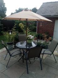 Karen D. verified customer review of Canopy for 2m Round Parasol/Umbrella - 6 Spoke