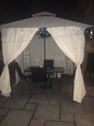 Sarah S. verified customer review of Universal Side Panel Set for 2.5m x 2.5m Patio Gazebo - Set of 4