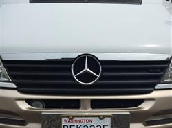 Cindy J. verified customer review of 02-06 Sprinter Chrome Hood Molding fits Mercedes Grille