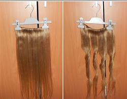 20 Inch Clip In Hair Extensions Balayage 8/60# Straight 100% Human Virgin Hair