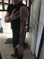 Xavier G. verified customer review of Mecha Flowers Sleeve
