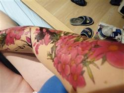 Stéphanie P. verified customer review of Cherry Tree Flowers Sleeve