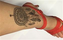 MURIEL F. verified customer review of Fleurs Mandala Dreamcatcher Henna Style