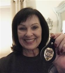 Lucinda B. verified customer review of CWP Leather Gold Badge FOB