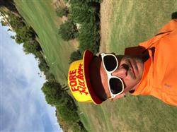 Huw M. verified customer review of Golf Gods - Fore Fuckers Yellow Trucker SnapBack Golf Hat