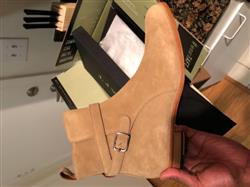 Khary M. verified customer review of The Dylan Boot in Beige