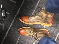 Derek H. verified customer review of The Troy Boot in Camo