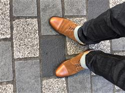 Albert V. verified customer review of The Troy Boot in Cognac
