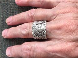 Rachel L. verified customer review of Solid Sterling Cheppu Ring