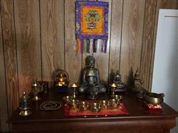 Raymond F. verified customer review of Amazing Table Top Altar Stupa