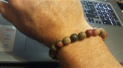 Tommy E. verified customer review of Matte Riverstone Wrist Mala