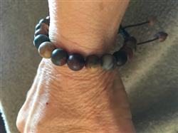 Janis P. verified customer review of Matte Riverstone Wrist Mala