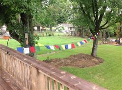 Dan M. verified customer review of Cotton Tibetan Windhorse Prayer Flags Set of 10